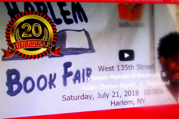 Harlem Book Fair, 2018
